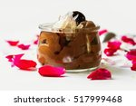 chocolate mousse dessert with... | Shutterstock . vector #517999468