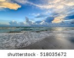 Sunset On The Gulf Of Mexico On ...