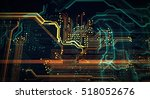 pcb  code  html  web... | Shutterstock . vector #518052676