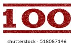 100 watermark stamp. text tag... | Shutterstock .eps vector #518087146