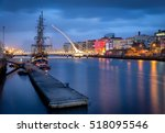 the river liffey  is a river in ... | Shutterstock . vector #518095546