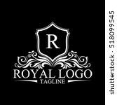 luxury logo | Shutterstock .eps vector #518099545
