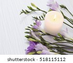 Bouquet Of Freesias Flowers...