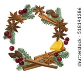 christmas winter spice....   Shutterstock .eps vector #518141386