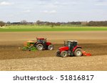 Agricultural Landscape With Tw...