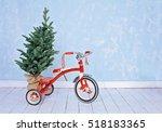 Cute Kid's Santa Claus Red...