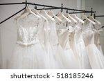 wedding dresses | Shutterstock . vector #518185246