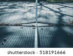 abstract tennis court center... | Shutterstock . vector #518191666