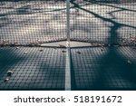 abstract tennis court center... | Shutterstock . vector #518191672