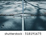abstract tennis court center... | Shutterstock . vector #518191675