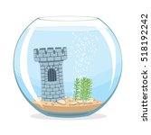 Aquarium. Fishbowl Aquarium...
