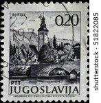 yugoslavia   circa 1997  a... | Shutterstock . vector #51822085