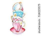 The Clip Art Tea Cups To Design ...
