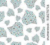 Crystals on mint background.Crystals vector.Crystals design,Crystals seamless texture.Print geometric style.Fabric, wallpaper, wrapping, cards, invitations, wedding, birthday, textiles, paper, holiday