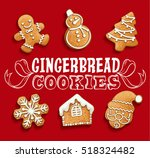 gingerbread cookies christmas...