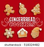 Gingerbread Cookies Christmas...