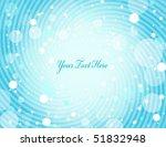 blue swirl background   vector... | Shutterstock .eps vector #51832948