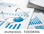 checking business reports....   Shutterstock . vector #518338306