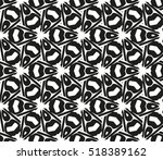 abstract geometric seamless... | Shutterstock .eps vector #518389162