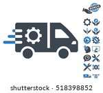 service car pictograph with... | Shutterstock .eps vector #518398852