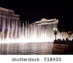Water Show At Bellagio  Las...