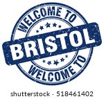 welcome to bristol. stamp. | Shutterstock .eps vector #518461402