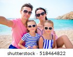 young beautiful family taking... | Shutterstock . vector #518464822