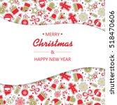 christmas texture. eps 10...