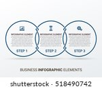 business infographics style... | Shutterstock .eps vector #518490742
