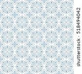 seamless monochrome pattern on... | Shutterstock .eps vector #518494042