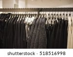 colorful clothes in a fashion... | Shutterstock . vector #518516998