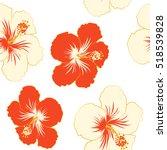 aloha hawaii  luau party... | Shutterstock .eps vector #518539828