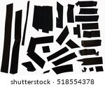 Collection Of Black Adhesive...