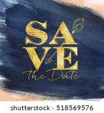 poster wedding lettering save... | Shutterstock .eps vector #518569576