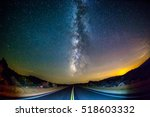 Road Leading Towards Milky Way...