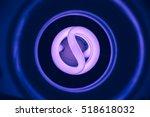 ultra violet light bulb | Shutterstock . vector #518618032