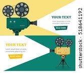 professional video camera...   Shutterstock . vector #518641192