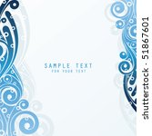 abstract background with place... | Shutterstock .eps vector #51867601