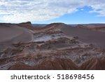 amazing landscape at atacama... | Shutterstock . vector #518698456