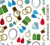 seamless pattern background...   Shutterstock .eps vector #518720875