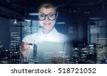 innovative technologies in... | Shutterstock . vector #518721052