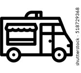 food truck icon | Shutterstock .eps vector #518729368
