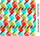 dynamic pattern. abstract... | Shutterstock .eps vector #518752732