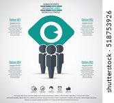 business management  strategy... | Shutterstock .eps vector #518753926