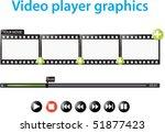 video player graphics | Shutterstock .eps vector #51877423