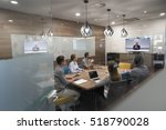 start up business people group... | Shutterstock . vector #518790028