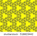 abstract geometric wallpaper.... | Shutterstock .eps vector #518823442