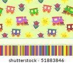 baby arrival card | Shutterstock .eps vector #51883846