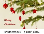 christmas ornaments | Shutterstock . vector #518841382