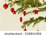 christmas ornaments | Shutterstock . vector #518841406